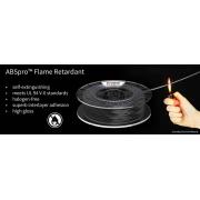 ABSpro Flame Retardant Black 1.75mm 500gr.