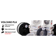 Volcano PLA White 1.75mm 4500gr.