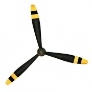 40mm Transparenter 3-Blatt Propeller (2xCW & 2xCCW) (1.5mm Welle) - RKH 76mm BL Whoop