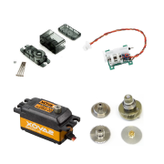 Indoor Servo Set 2xHS-40,1xHS-65HB