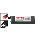 Team Orion LiPo 3S 11.1V 1300mAh 50C DEANS-Stecker