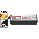 Team Orion LiPo 4S 14.8V 4400mAh 50C XT90-Stecker