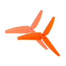 Plastic 3 Blade Propeller 82mm Tail Blade (ORANGE) -...