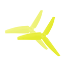 Plastic 3 Blade Propeller 82mm Tail Blade (YELLOW) -...