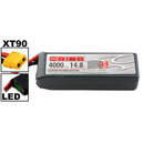 Team Orion LiPo 4S 14.8V 4000mAh 50C XT90-Stecker