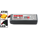 Team Orion LiPo 6S 22.2V 4000mAh 50C XT90-Stecker