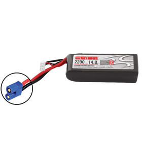 Team Orion LiPo 4S 14.8V 2200mAh 50C EC3-Stecker