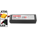 Team Orion LiPo 4S 14.8V 5300mAh 50C XT90-Stecker