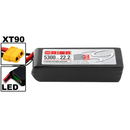 Team Orion LiPo 6S 22.2V 5300mAh 50C XT90-Stecker