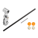 Aluminum Main Rotor Hub W/ Carbon Shaft Set - ESKY 150X /...