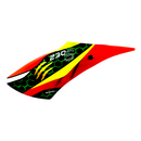 Airbrush Fiberglass Red Assassin Canopy - BLADE 230S / V2...