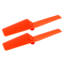 Plastic Tail Blade 42mm (ORANGE) - BLADE NCPX/NCPS/mSR S