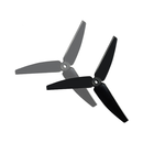 Plastic 3 Blade Propeller 82mm Tail Blade (BLACK) - BLADE...
