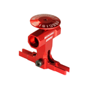 Precision CNC Aluminum Main Rotor Hub w/ Button (RED) -...