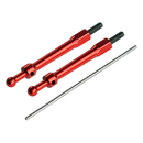 Aluminum Canopy Mount set (RED) - BLADE 230 S