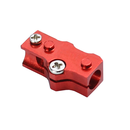 Aluminum 3mm Tail Boom Mount (RED) (for MH-MPCS105/X)