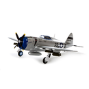 E-Filte P-47 Razorback 1200mm BNF Basic mit AS3X und SAFE...