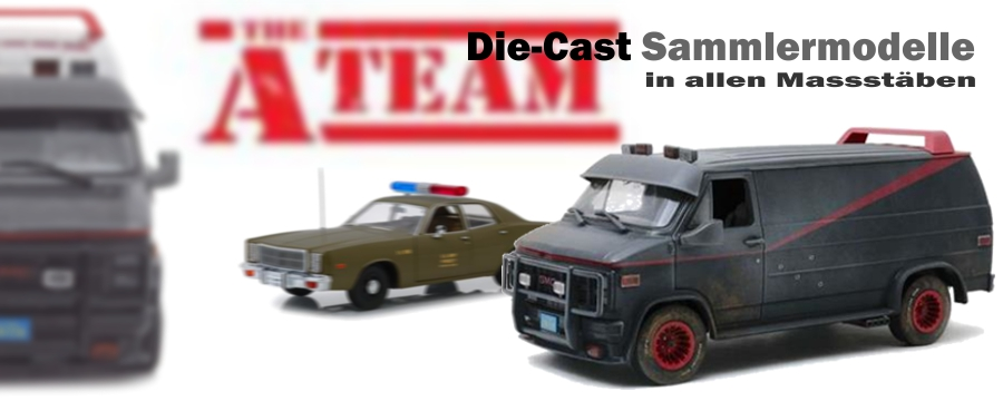 The A-Team - Hollywood Die-Cast Sammlermodell